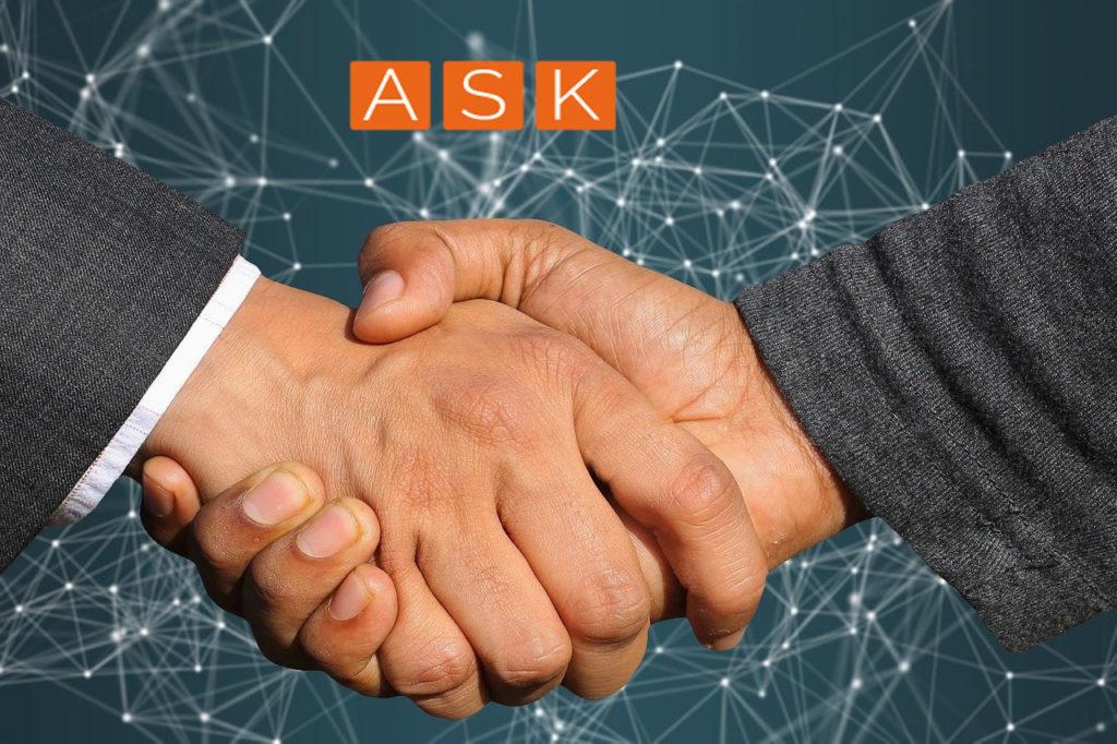 Kunden Angebot Zusammenarbeit