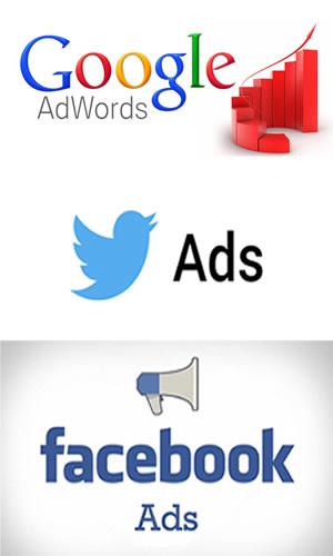 GooglsAds TwitterAds FacebookAds