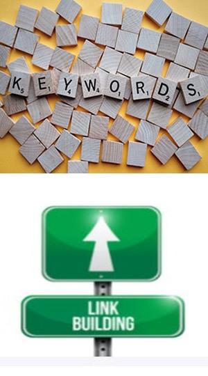 Keywords Backlinks