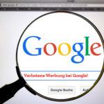 Verbotene Beiträge bei Google